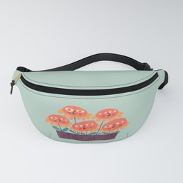 Flowers - the quirky little people Fanny Pack
