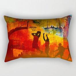 A summer in New York Rectangular Pillow