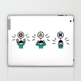 Maru Sankaku batu Laptop & iPad Skin