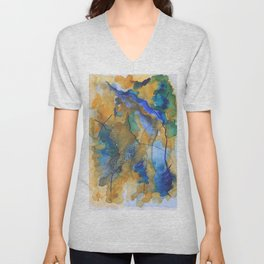 Autumn Colors Unisex V-Neck