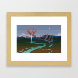 Becoming Earth Framed Art Print
