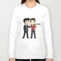 sterek Long Sleeve T-shirts featuring Sterek by agartaart