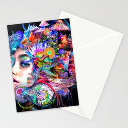 Fade Into Stationery Cards