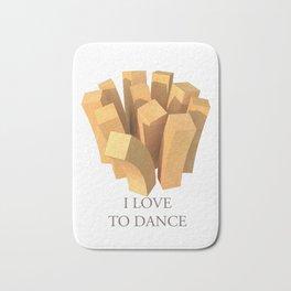I love to dance Bath Mat