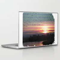 flight Laptop & iPad Skins featuring Flight by Last Call
