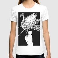 swan T-shirts featuring Swan by Mariia Krugliakova