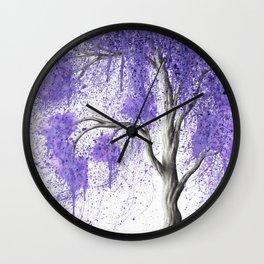 Peace Dance Tree Wall Clock
