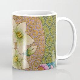 Jasmine Flower  Mandala  Coffee Mug