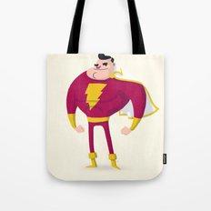 SHAZAM! Captain Marvel Tote Bag