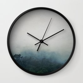 The mist Wall Clock