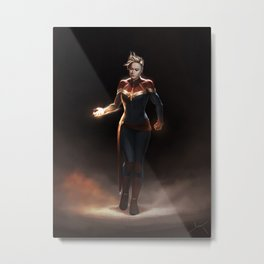 Higher. Further. Faster. Metal Print