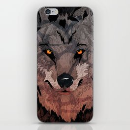 Wolf Mother iPhone Skin