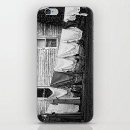 Amish Laundry iPhone Skin