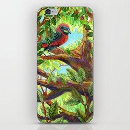 Bird up a Tree iPhone Skin