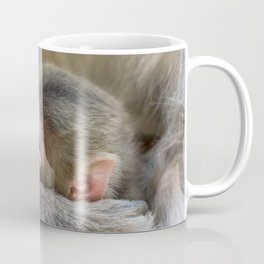 Infant Macaque at Snow Monkey Park, Japan Coffee Mug