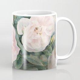 White Rose Garden Coffee Mug