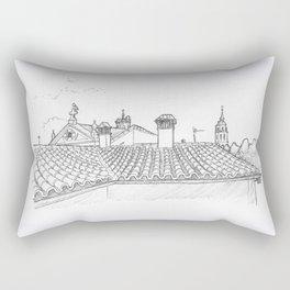 Alcalá Rooftops Rectangular Pillow