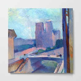 Henri Matisse Notre Dame in the Late Afternoon Metal Print