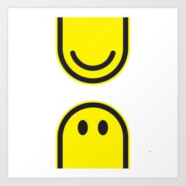 Smile division Art Print