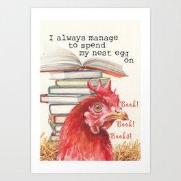 The Nest Egg Art Print