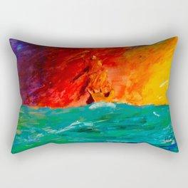 Asking for Help Rectangular Pillow