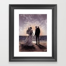 Til Death Do Us Part II Framed Art Print