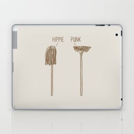 Hippie and Punk Laptop & iPad Skin