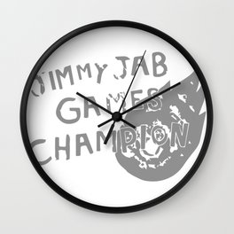 Jimmy Jab Games Wall Clock