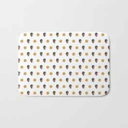 11& Waffles Pattern Bath Mat