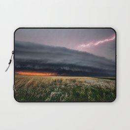 Steamroller - Storm Spans the Kansas Horizon Laptop Sleeve