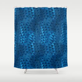 Deformation of Time and Space Shower Curtain