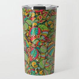 Paisley cucumbers pattern Travel Mug