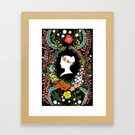 Language of Flowers  Framed Art Print