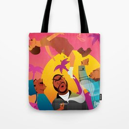 Knocked The Eff Out Tote Bag