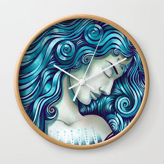 Calypso Sleeps Wall Clock
