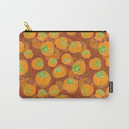 Persimmon Carry-All Pouch