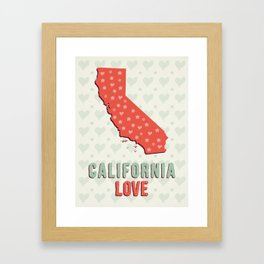 California Love Framed Art Print
