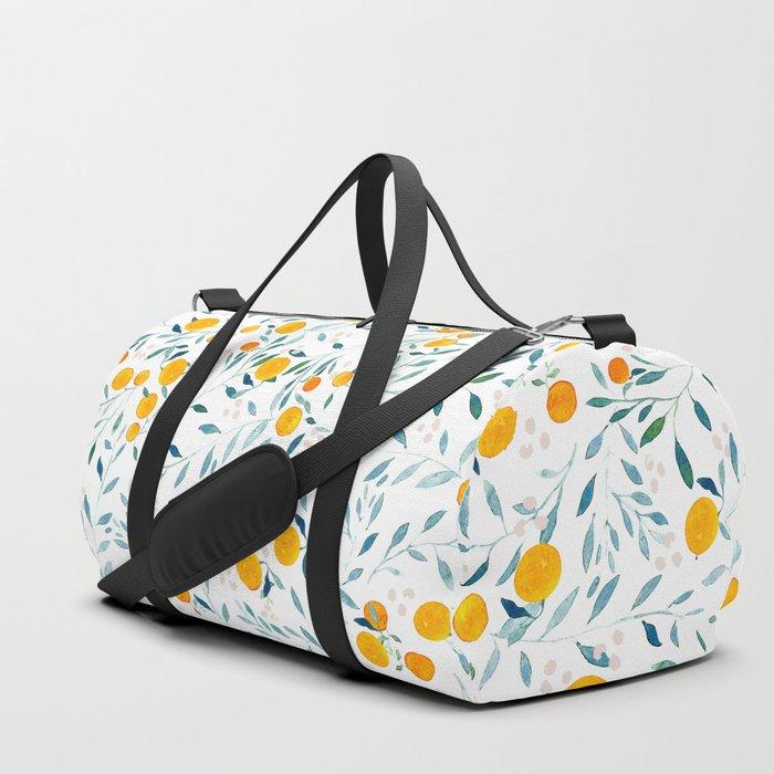 Orange Tree Duffle Bag