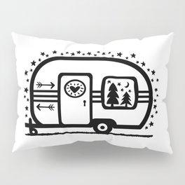 Home Is Where We Roam Rv Camper Road Trip Pillow Sham