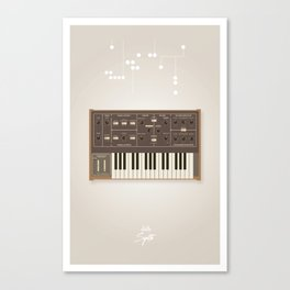 The Synth Project - Moog Prodigy Canvas Print