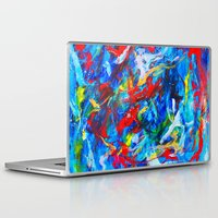 russia Laptop & iPad Skins featuring Winter In Russia by Ming Myaskovsky