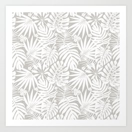 Lindenman Tropics Art Print