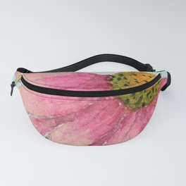 Pink Coneflower Fanny Pack