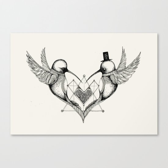 'Valentine's Day' Canvas Print