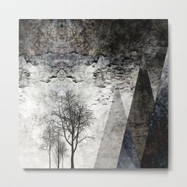 TREES besides MAGIC MOUNTAINS I Metal Print