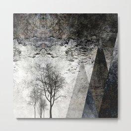 TREES besides MAGIC MOUNTAINS I Metal Print