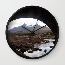 Mountains Lewis and Harris 2 Wall Clock