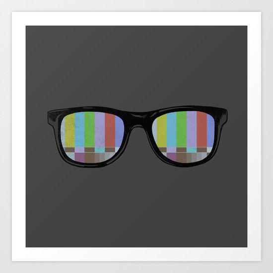 Technicolor Art Print