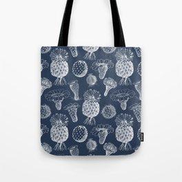 Cactus Flowers White Tote Bag