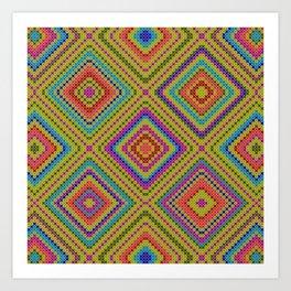 hang on to rhomb self Art Print